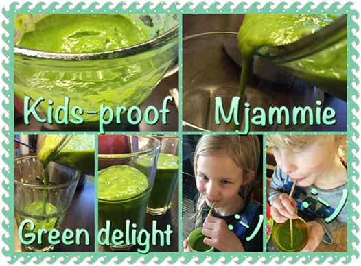 Kids-proof green, mjammie, power smoothie